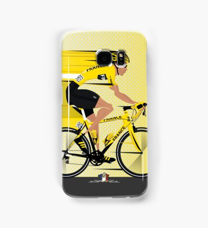 France Yellow Jersey Samsung Galaxy Case/Skin