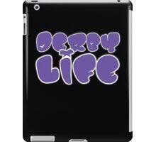 Derby Life Purple Design!  iPad Case/Skin