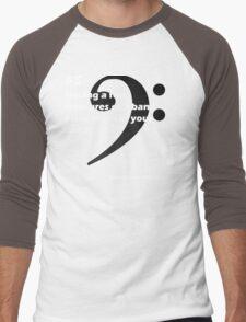 Band Nerd Problems #5 Men's Baseball ¾ T-Shirt