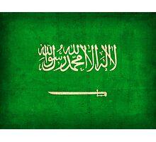 Saudi Arabia Flag Photographic Print