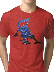 Greninja used Water Shuriken Tri-blend T-Shirt
