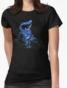Greninja used Water Shuriken Womens Fitted T-Shirt