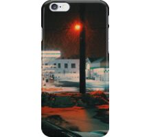 8:26, walking during a blizzard iPhone Case/Skin