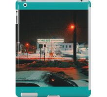 8:26, walking during a blizzard iPad Case/Skin