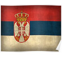 Serbia Flag Poster