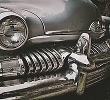 old chromed american car  by Pixmover