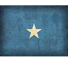 Somalia flag Photographic Print