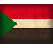 Sudan Flag Photographic Print