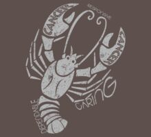 Cancer Zodiac One Piece - Short Sleeve
