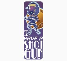 Mass Effect - Tali 'I have a Shotgun' by baroquezombie