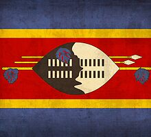 Swaziland flag by flaglover