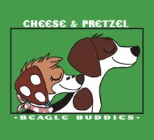 Official Cheese and Pretzel Dark Shirt by TigrisTheLynx