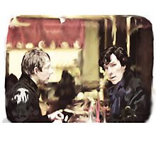cafe. Photographic Print