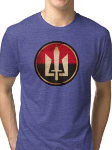 Ukraine Civil War Tri-blend T-Shirt