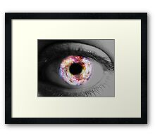 I Can See the Stars in Your Eyes Framed Print