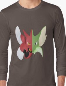 Syther #123 and Scizor #212 Long Sleeve T-Shirt