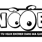 Logo Noob (Black) by Bastien13