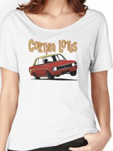 Ford Cortina Lotus Mk2 Women's Relaxed Fit T-Shirt