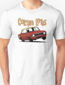 Ford Cortina Lotus Mk2 Unisex T-Shirt