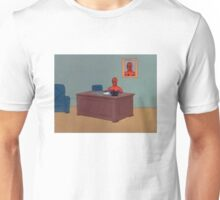 Spiderman Desk Unisex T-Shirt