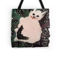 Joker Kitty Tote Bag