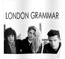 London Grammar band Poster