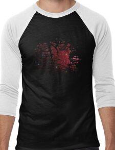 Tarred Nebula Men's Baseball ¾ T-Shirt