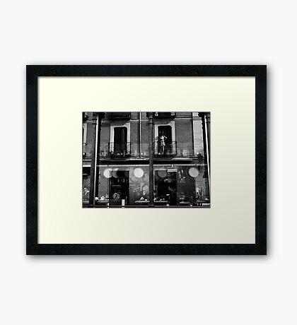Mercado San Miguel reflections .. Framed Print