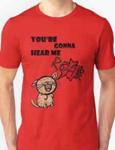 ROAR. Unisex T-Shirt