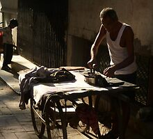 Ironing in the streets by opensea