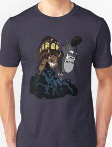 Totoro and Cat Bus Unisex T-Shirt