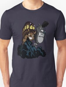 Totoro and Cat Bus T-Shirt