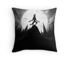 Drawlloween 2013: Werewolf Throw Pillow