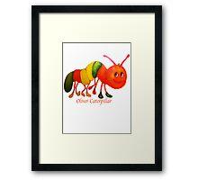 Oliver Caterpillar Framed Print