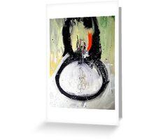 CIELOS LACERADOS (lacerated skies) Greeting Card