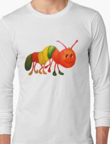 Caterpillar with shoes Long Sleeve T-Shirt