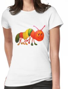 Caterpillar with shoes Womens Fitted T-Shirt