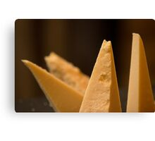 Cheese triangles Canvas Print