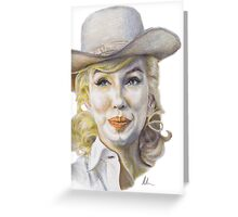 Marilyn Monroe - The Misfits (Onset) Greeting Card