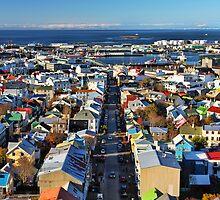Reykjavik Cityscape by Jasna