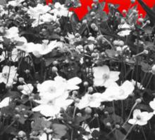 Flower Shock Sticker