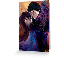 Sherlock and Molly Greeting Card