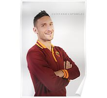 #10 Francesco Totti - credit Stefano Caporilli Poster
