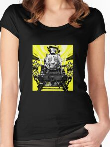 Thomas the Fright Train Women's Fitted Scoop T-Shirt