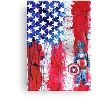 Superhero Dress-Up Canvas Print