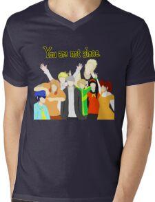 The Investigation team Mens V-Neck T-Shirt