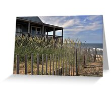 Atlantic Getaway Greeting Card