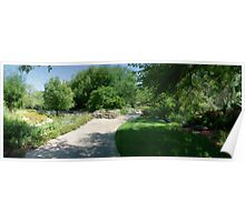 Shade Trees in the Garden Poster