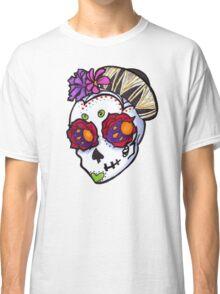 Tiny Sombrero Sugar Skull Classic T-Shirt