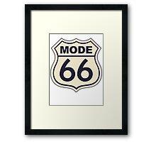 Mode 66 Framed Print